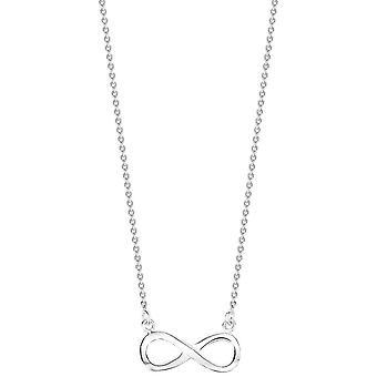Zwykły Bella Infinity naszyjnik - srebrny