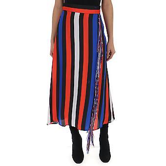 Falda de algodón Multicolor de MSGM