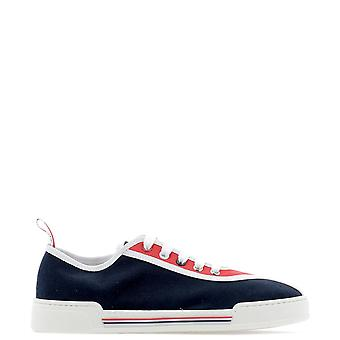 Thom Browne Blue Fabric Sneakers