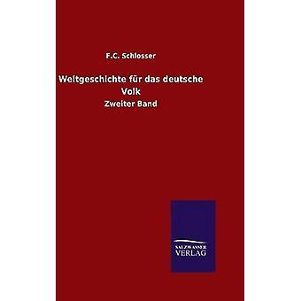 Bildseiten fr Das Deutsche Volk von Schlosser & F.C.