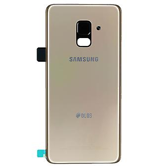 Genuine Samsung Galaxy A530 Gold DUOS Battery Cover | iParts4u