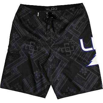 LRG icona Mens Boardshorts Dark Charcoal