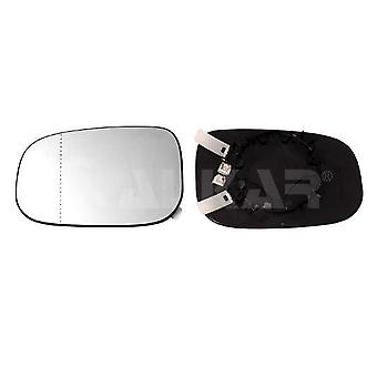 Left Mirror Glass (Heated) & Holder For VOLVO C70 mk2 Convertible 2006-2010