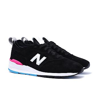 New Balance 997 Made in the USA Black & White Contrast Trainers