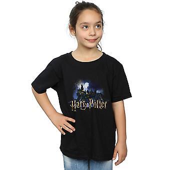 Hary Potter Girls Hogwarts Castle T-Shirt