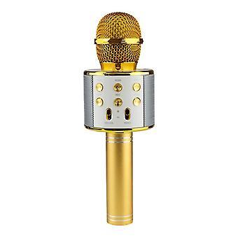 KTV-draadloze Karaoke microfoon-goud