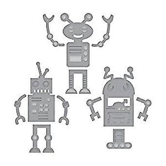 Spellbinders Die D-Lites Robots (S3-309)