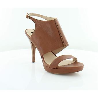 DKNY Womens Bren Leather Open Toe Casual Ankle Strap Sandals