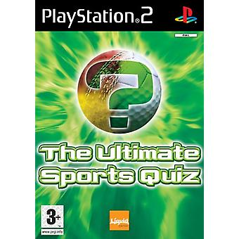 The Ultimate Sports Quiz (PS2) - Factory Sealed