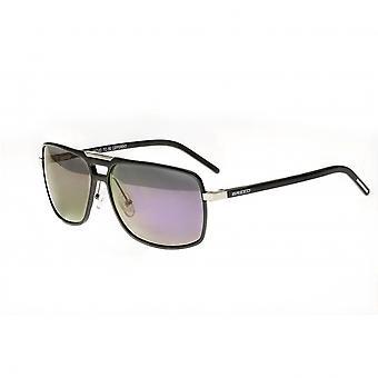 Breed Aurora Aluminium Polarized Sunglasses - Gunmetal/Purple
