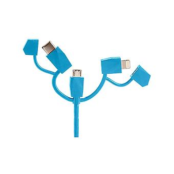 Outdoor Technology Blue Calamari 2.0 3 In 1 Cable