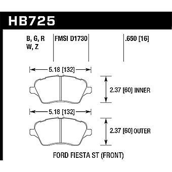 Hawk Performance HB725W.650 DTC-30