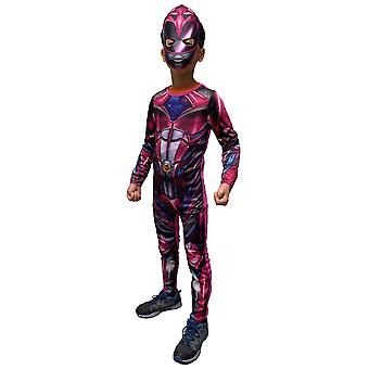 Pink Ranger Classic Muscle Saban's Power Rangers Superhero Girls Costume 6-8