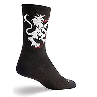 Chaussettes - SockGuy - SGX SGX6 Lion of Flanders Wht S Cycling/Running