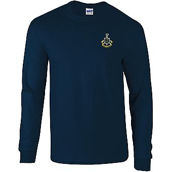 Royal Sussex Regiment - Licensed British Army Embroidered Long Sleeved T-Shirt