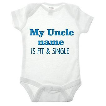 My uncle babygrow
