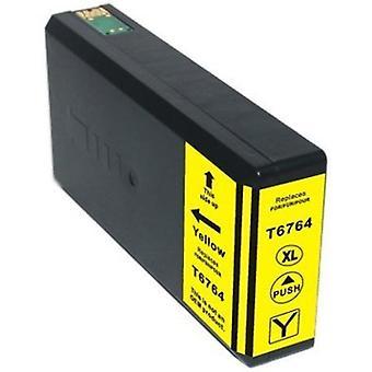 676XL (T6764) Yellow Compatible Inkjet Cartridge