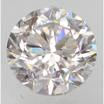 Certified 1.03 Carat D Color VS1 Round Brilliant Enhanced Natural Diamond 6.17mm