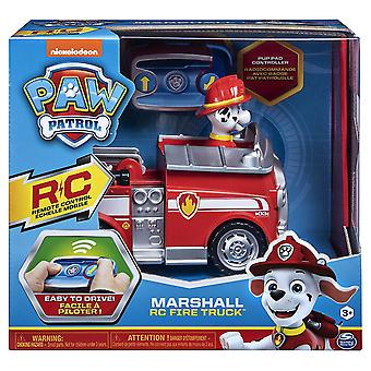 Paw Patrol Remote Control Marshall - Fire Truck with 2-way Steering