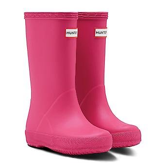 Hunter Kids First Toddler Classic Boots - Bright Pink