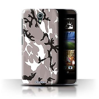 STUFF4 Case/Cover voor HTC Desire 820 Mini/wit 4/Camouflage Army Navy