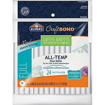 Elmer's CraftBond(R) Less Mess All-Temp Glue Sticks-7/16