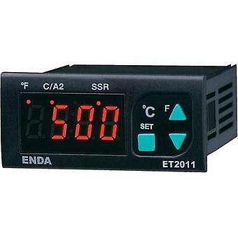 PID Temperature controller Enda ET2011-RT-230 Pt100 -100 up to +600 °C 8 A relay, 16 A relay, SSR (L x W x H) 71 x 77 x