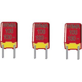 FKP thin film capacitor Radial lead 330 pF 630 Vdc 20 % 5 mm (L x W x H) 7.2 x 4.5 x 6 mm Wima FKP2 1 pc(s)
