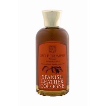 Geo F Trumper Spanish Leather Travel Cologne 100ml