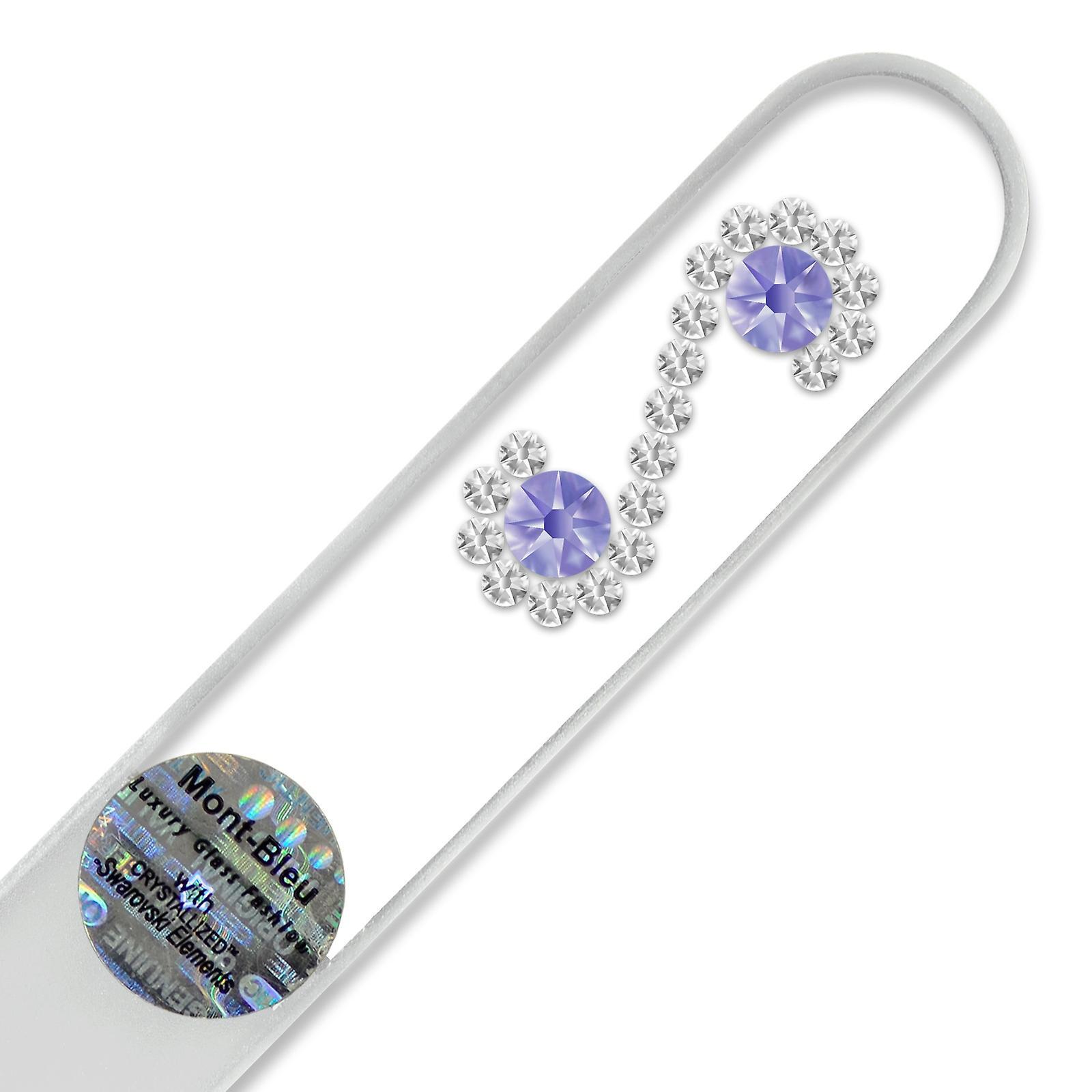 Mont Bleu Infinity Crystal Nail File LE-14