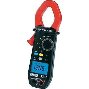 Clamp meter, Handheld multimeter digital Chauvin Arnoux F203 Calibrated to: Manufacturer's standards (no certificate) C