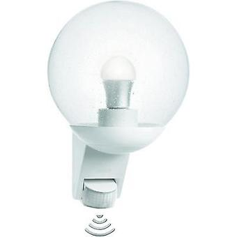 Outdoor wall light (+ motion detector) Energy-saving bulb, LED E27 60 W Steinel 005917 White