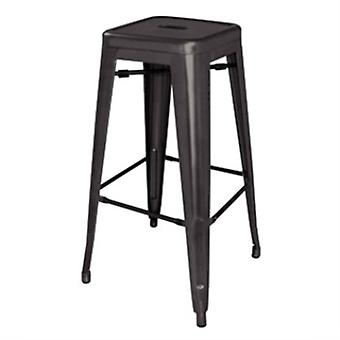 Nelia Steel Kitchen Bar Stool Set Of 4 Modern And Stylish Fully Assembled