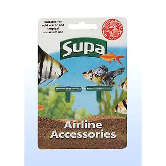 Supa Airline Tees Carded 2pack (Pack of 12)