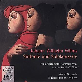 Giacometti, Paolo/Kolner Akademie - Johann Wilhelm Wilms: Importación de USA de Sinfonie Und Solokonzerte [SACD]