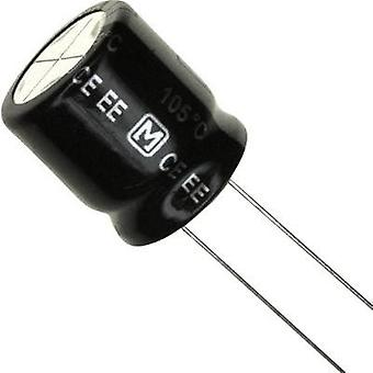 Electrolytic capacitor Radial lead 7.5 mm 68 µF 4