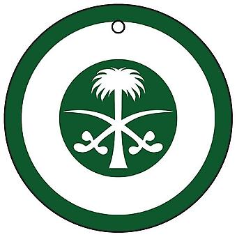 Royal Saudi Air Force Roundel ambientador de aire