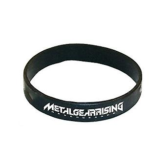 METAL GEAR SOLID Rising Silicone Wristband, Black (GE0458)