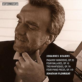 Brahms / Plowright - musique pour Piano 4 [SACD] USA import