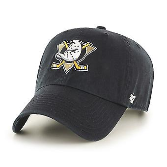 47 Brand NHL Anaheim Ducks Clean Up Cap - Black