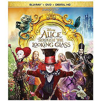 Import USA Alice przez Looking Glass [Blu-ray]