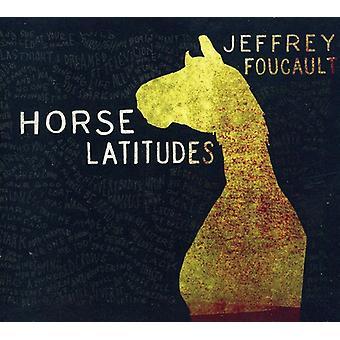 Jeffrey Foucault - hest breddegrader [CD] USA import