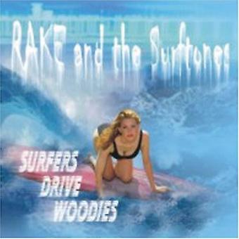 Rake & Surftones - surfere kjøre Woodies [DVD] USA import