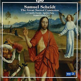 S. Scheidt - Samuel Scheidt : The Concertos sacrés grande [CD] USA import