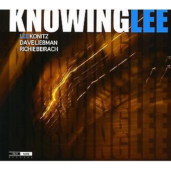 Konitz/Liebman/Beira - vel vidende, Lee [CD] USA import