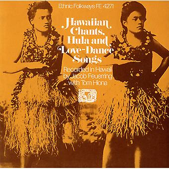 Hawaiian Chants danse Hula & Love Songs - Hawaiian Chants Hula & Love Dance Songs [CD] USA import