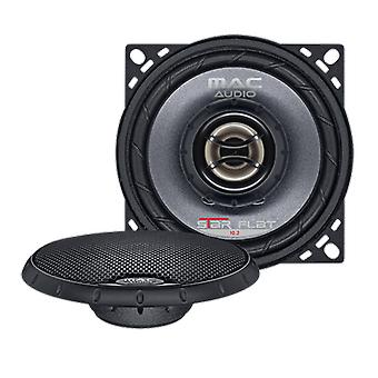 1 pair audio star Mac flat 102, 2 way coaxial speaker of max 200 Watt, NEW