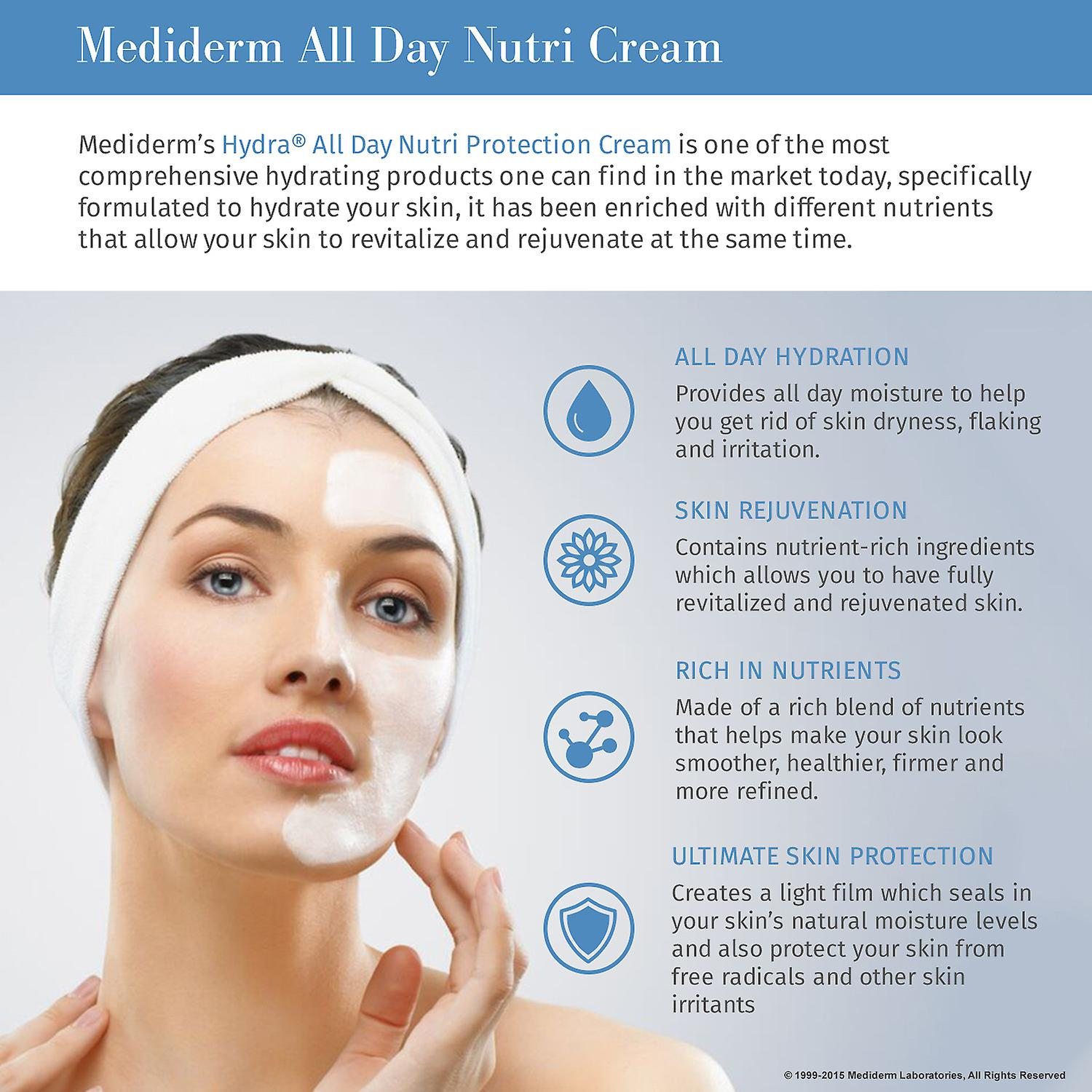 MediDerm Hydra All Day Nutri Protection Cream - Excellent Facial Moisturizer