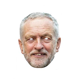 Jeremy Corbyn Single carte 2D partie masque