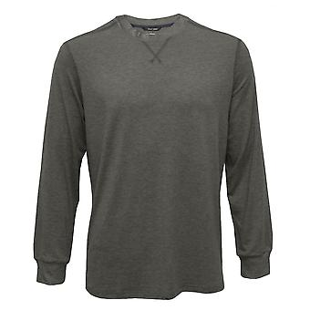 HOM Billy Modal Stretch Luxe Jersey Long-Sleeve Top, Marl Grey